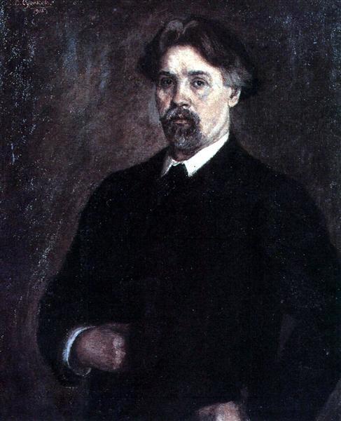 Self-Portrait, 1915 - Vasily Surikov