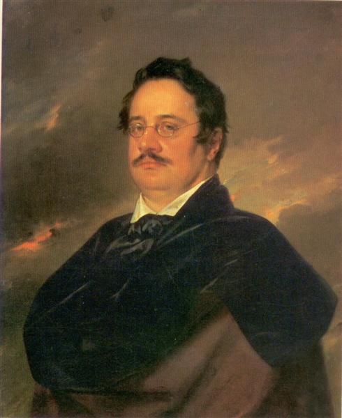 Nikolai Nikolajevitj Rajevskij, 1842 - Vasily Tropinin