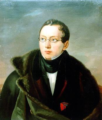 Portrait of Alexander Vsevoldovich Vsevolozsk - Vasily Tropinin