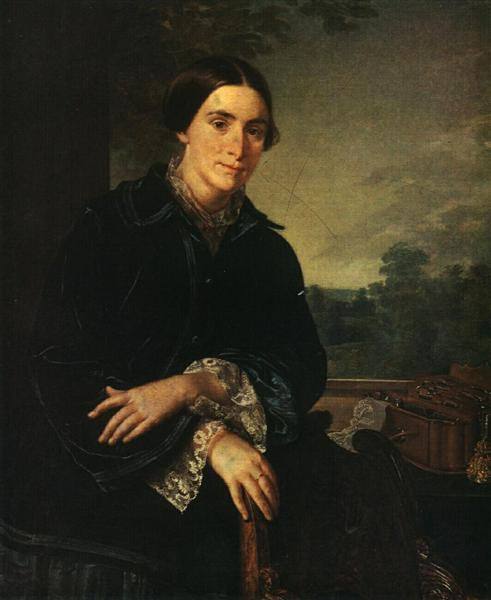 Portrait of E.A. Selivanovskaya, 1852 - Vasily Tropinin