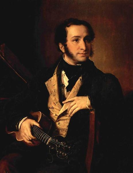 Portrait of Pavel Vasilyev - Vasily Tropinin