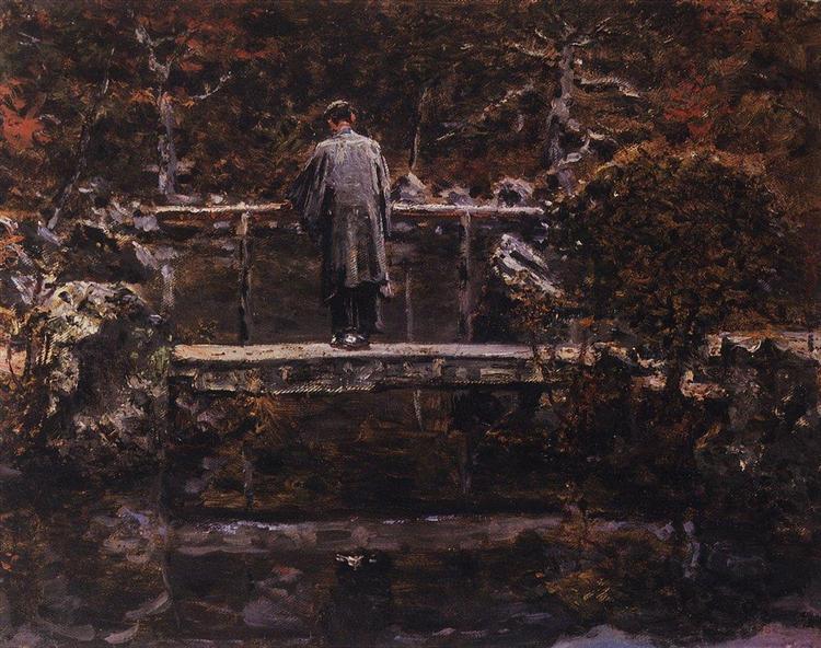 On the Bridge - Vasily Vereshchagin
