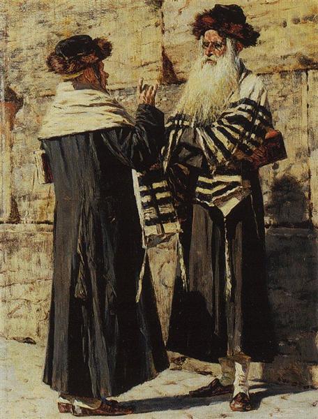 Two Jews, 1883 - 1884 - Vasily Vereshchagin