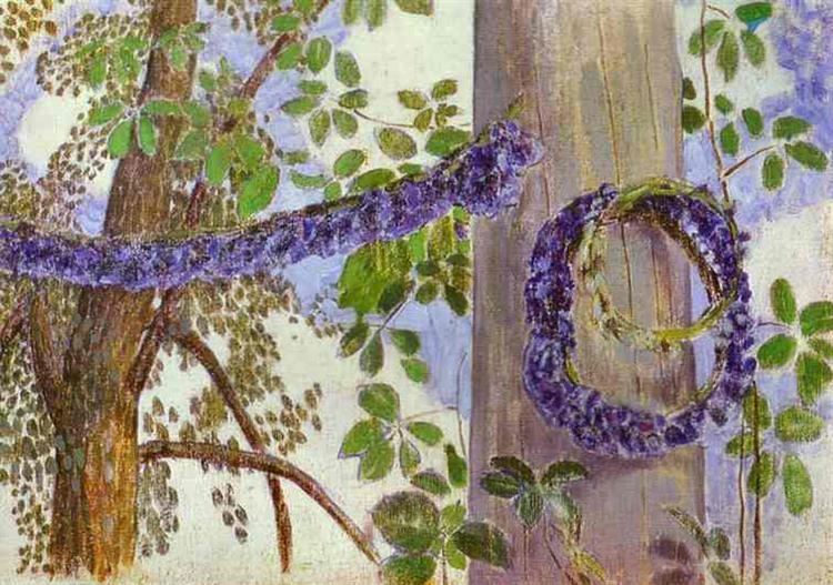 Garlands of Cornflowers, 1905 - Victor Borisov-Musatov