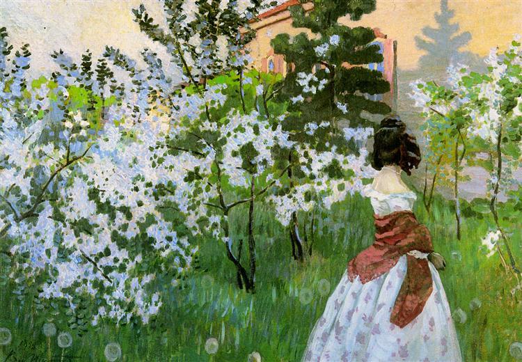 Spring Sun, c.1899 - Victor Borisov-Musatov