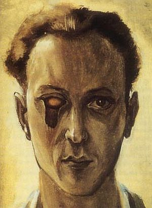 Self-portrait with a Plucked Eye, 1931