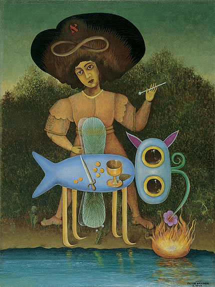 The Surrealist, 1947 - Victor Brauner