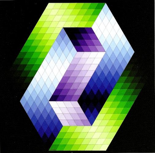 Keple Gestalt, 1968 - Victor Vasarely