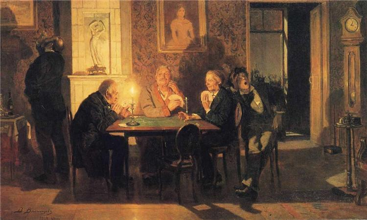 A Game of Preference, 1879 - Viktor Vasnetsov