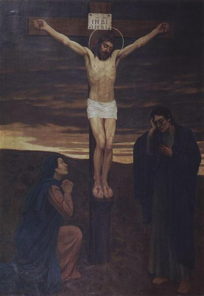 Crucifixion, 1902 - Viktor Vasnetsov