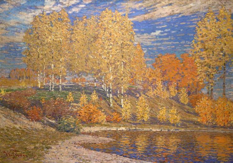 Autumn Sun, 1909 - Vilhelms Purvitis