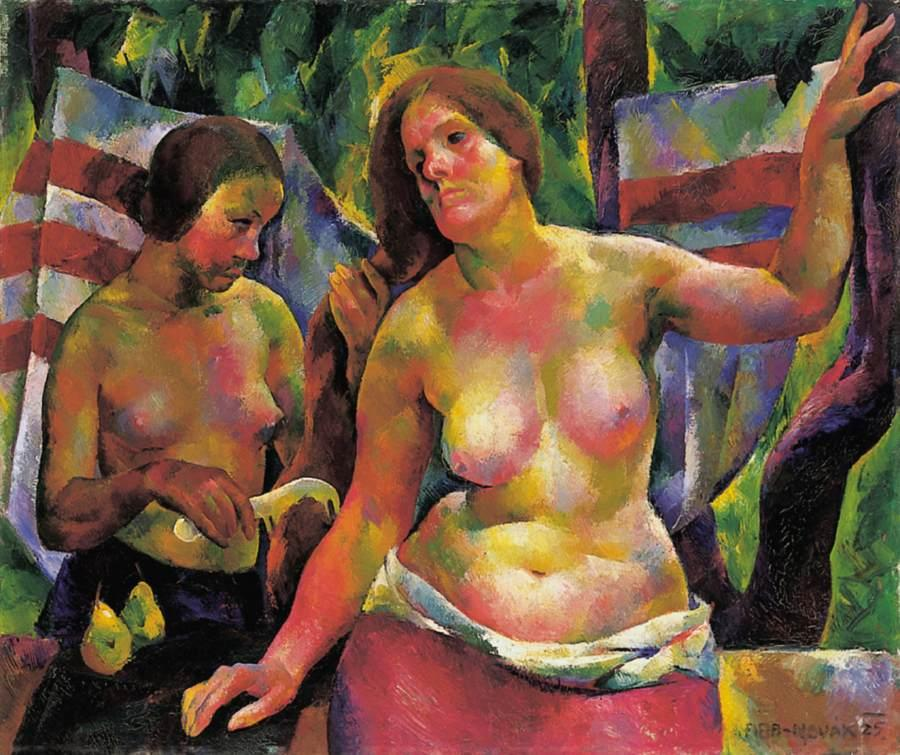 Combing (Woman Combing, The Artist's Wife), 1925