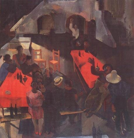 Pub, 1930 - Vilmos Aba-Novak