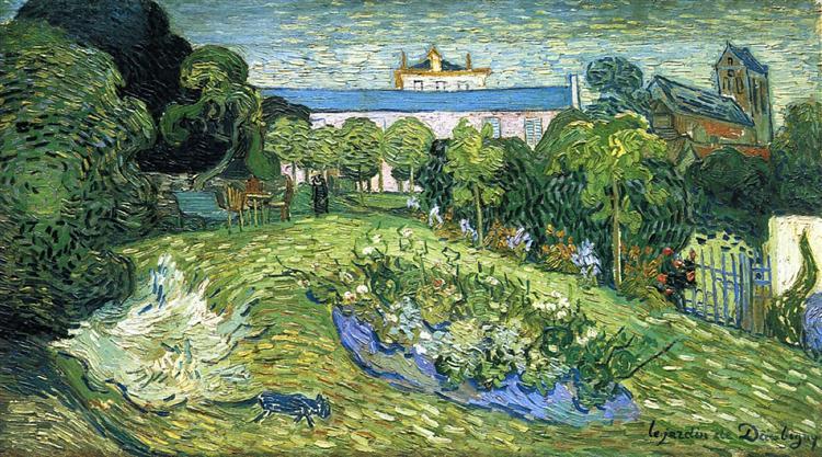 Daubigny's Garden, 1890 - Винсент Ван Гог