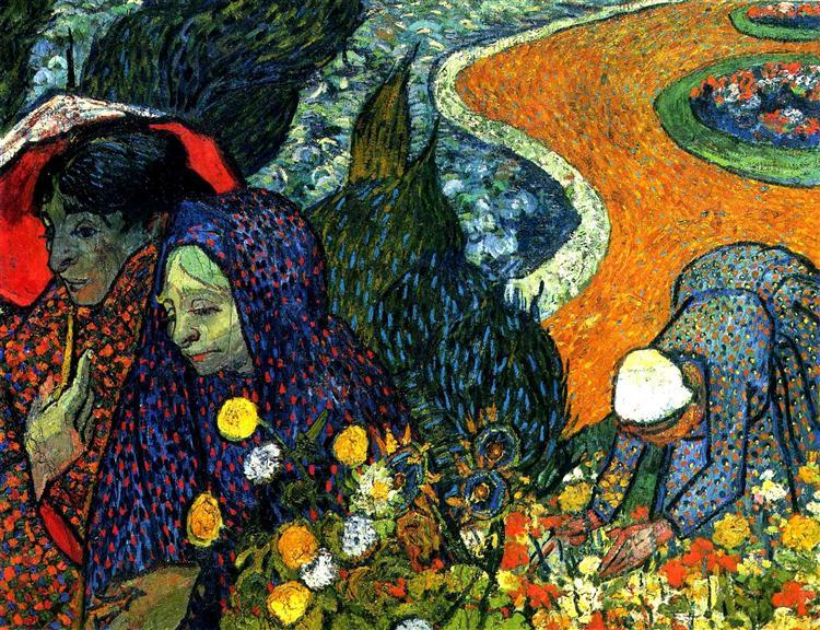 Ladies of Arles (Memories of the Garden at Etten), 1888 - Vincent van Gogh