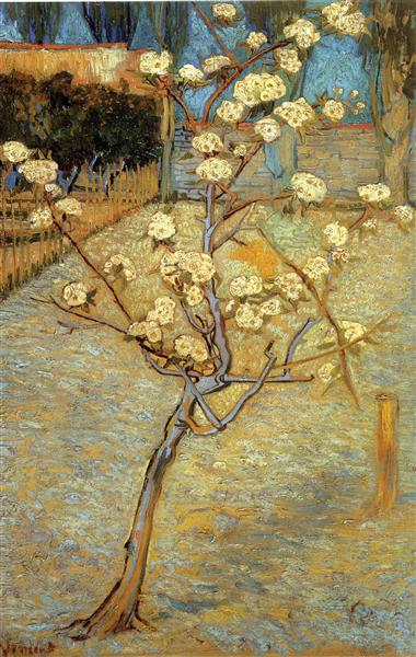 Pear Tree in Blossom, 1888 - Vincent van Gogh
