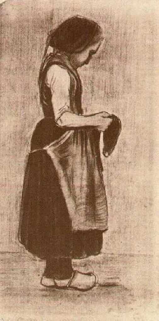 Peasant Girl Standing, 1881