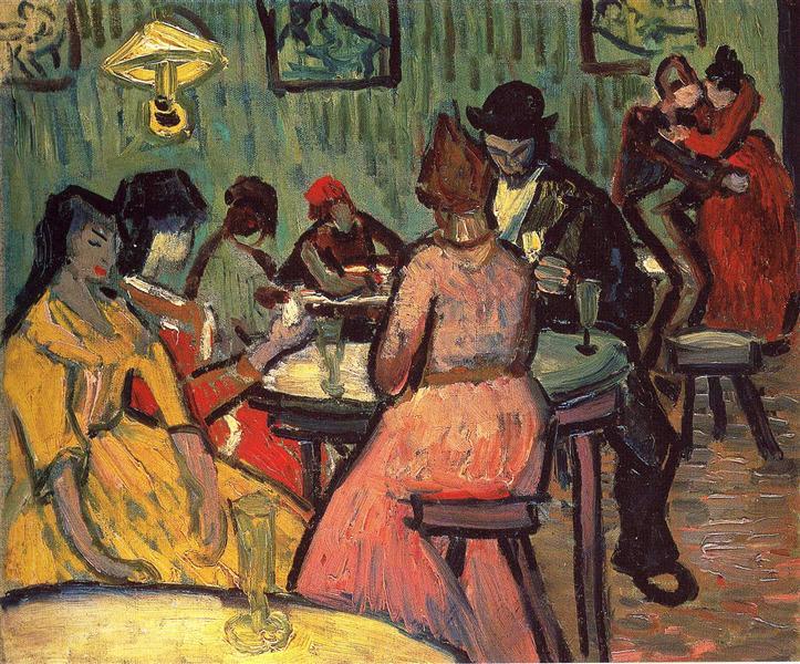 The Brothel, 1887 - Vincent van Gogh
