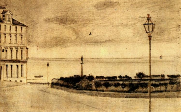 View of Royal Road, Ramsgate, 1876 - Vincent van Gogh