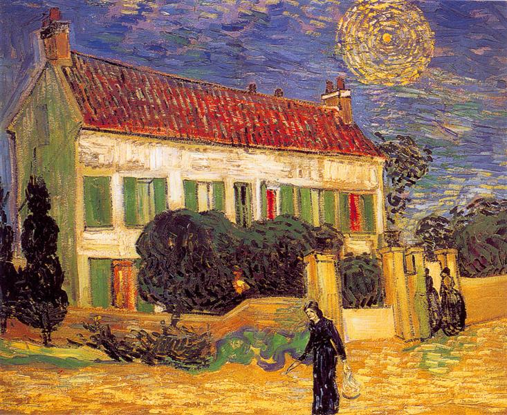 White House at Night - van Gogh Vincent