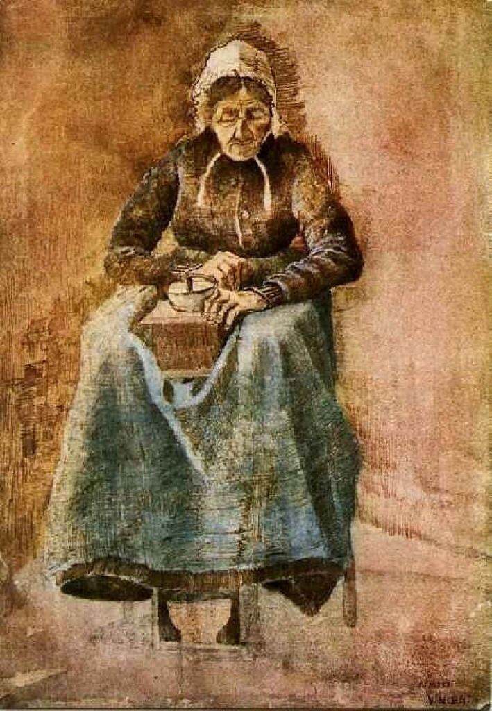 Woman Grinding Coffee, 1881