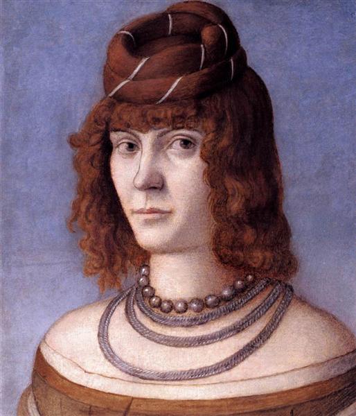 Portrait of a Woman, 1498 - Vittore Carpaccio