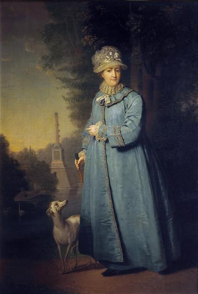 Portrait of Catherine II, Empress of Russia, 1794 - Vladimir Borovikovsky