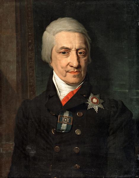 Portrait ofKoshelev - Vladimir Borovikovsky