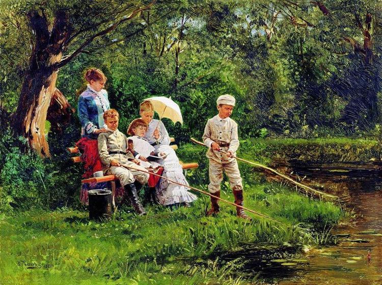 Midday Sun, 1881 - Володимир Маковський