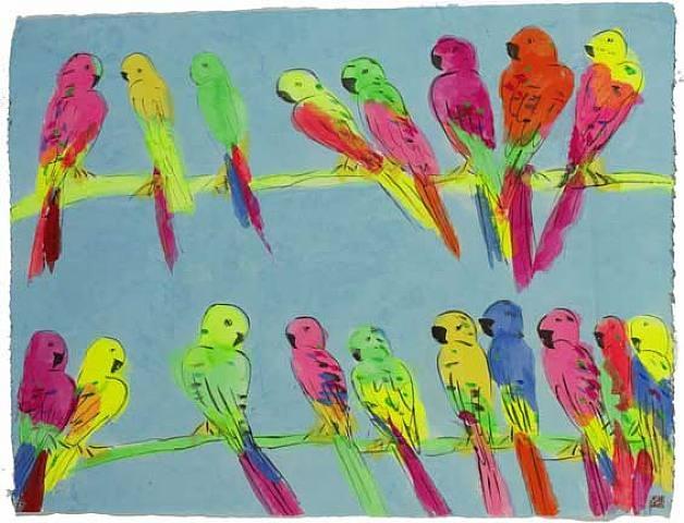 Many Parrots - Уоллес Тинг