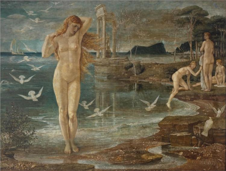 The Renaissance of Venus, 1877 - Walter Crane