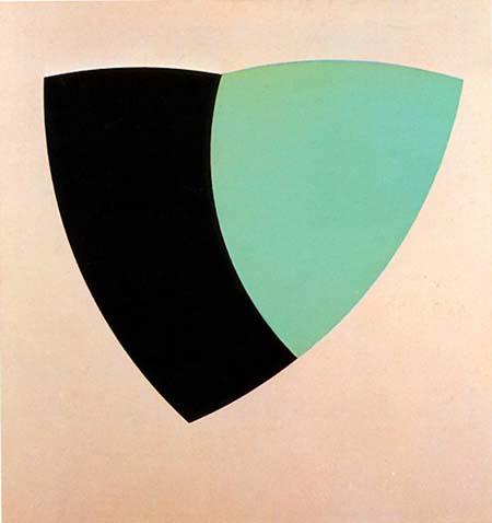 Green Valentine #2, 1964 - Walter Darby Bannard