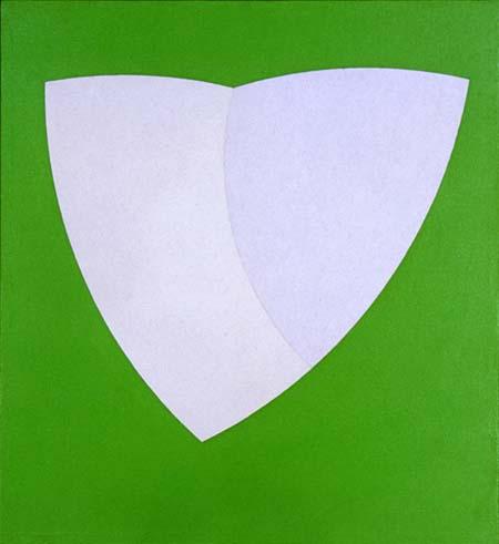 Green Valentine #3, 1965 - Walter Darby Bannard