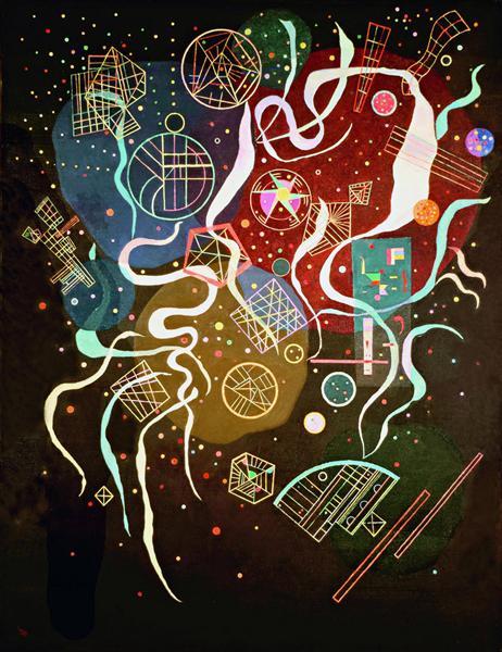 Movement I, 1935 - Wassily Kandinsky