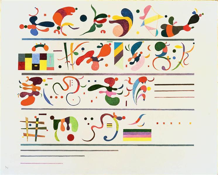 Succession, 1935 - Wassily Kandinsky