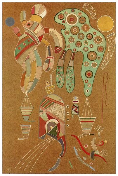 Untitled, 1941 - Wassily Kandinsky