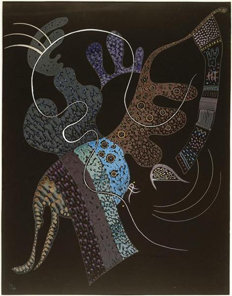 White line, 1936 - Wassily Kandinsky