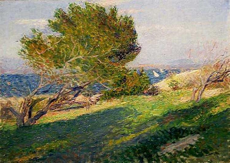 Coast of Brittany, 1886 - Willard Metcalf