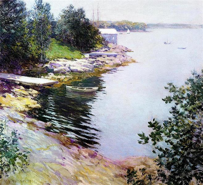 The Landing Place, 1904 - Willard Metcalf