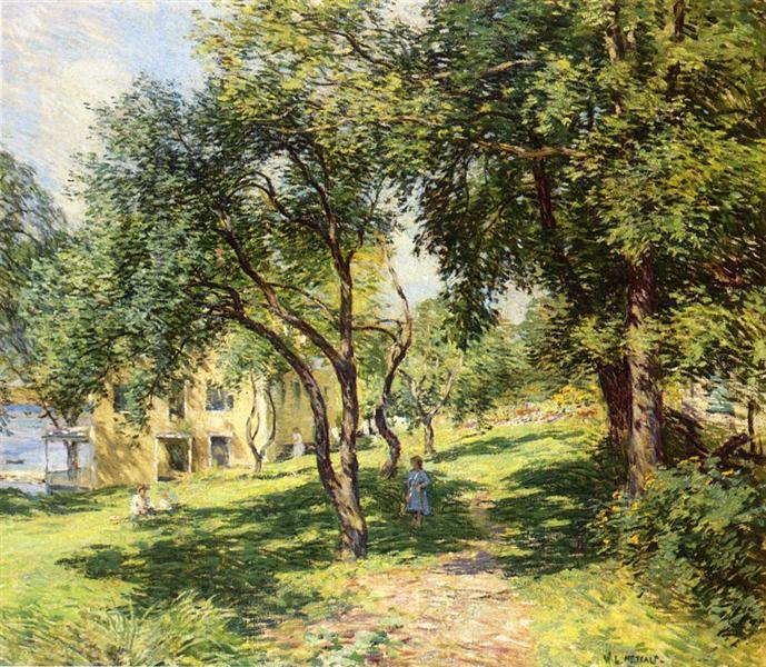 The-Path, 1915 - Willard Metcalf