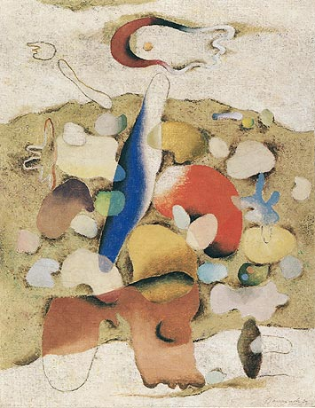 Stone Garden, 1939 - Willi Baumeister