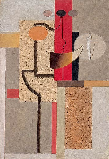 The Sculptor, 1923 - Willi Baumeister