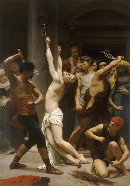 Flagellation of Our Lord Jesus Christ, 1880 - William-Adolphe Bouguereau