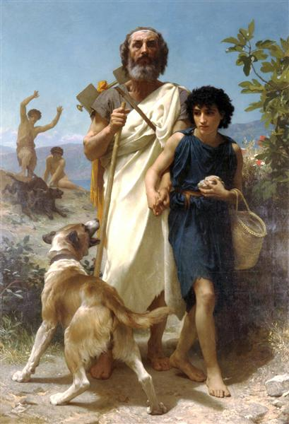 Homer and his Guide, 1874 - William-Adolphe Bouguereau
