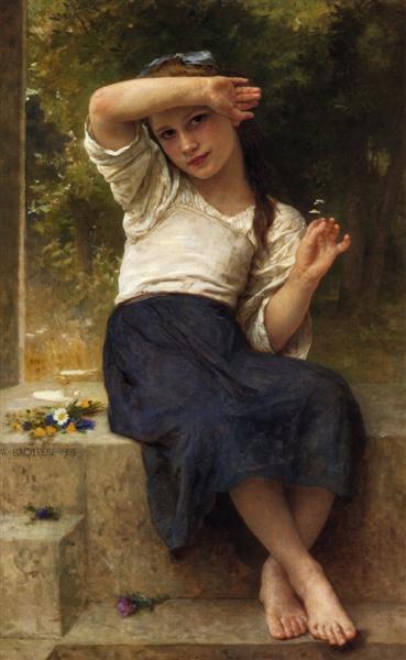 Marguerite, 1903 - William Adolphe Bouguereau