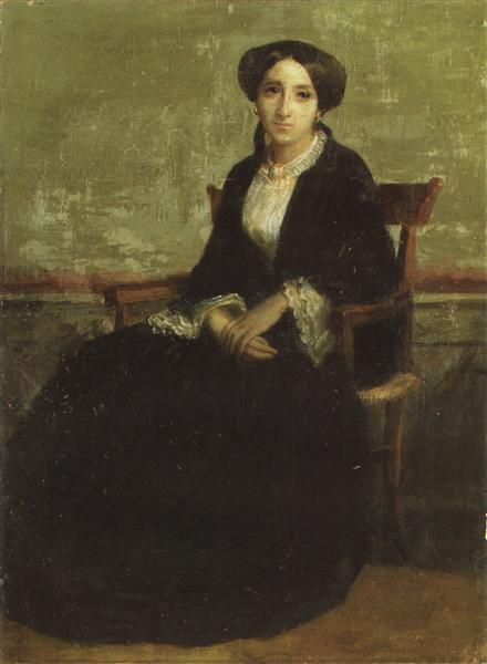 Portrait of Genevieve Celine, 1850 - William-Adolphe Bouguereau
