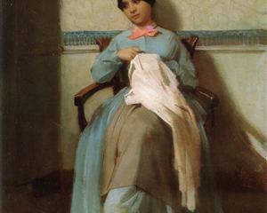 Portrait of Léonie Bouguereau - William-Adolphe Bouguereau