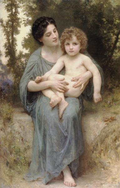 The younger brother, 1902 - William-Adolphe Bouguereau