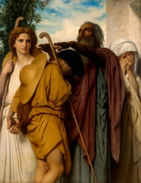 Tobias Receives his Father's Blessing, 1860 - William-Adolphe Bouguereau
