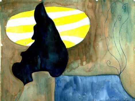 Watercolor #1, 1958 - William Baziotes